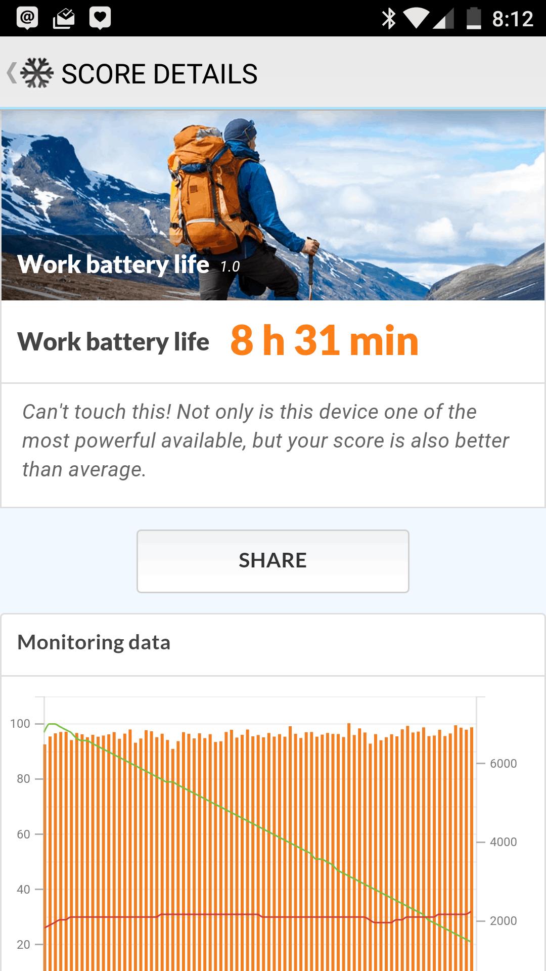 OnePlus 3 AH NS screenshot benchmark battery 1