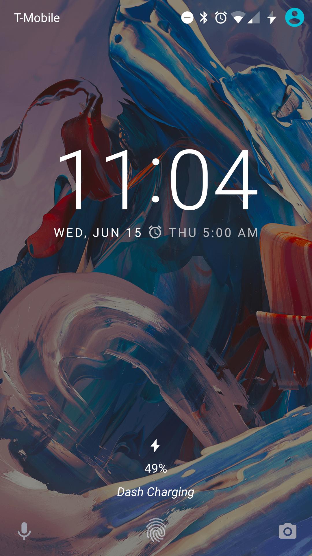 OnePlus 3 AH NS screenshot dash charge