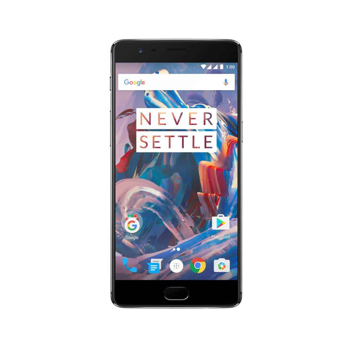 OnePlus 3 Graphite Press AH 1