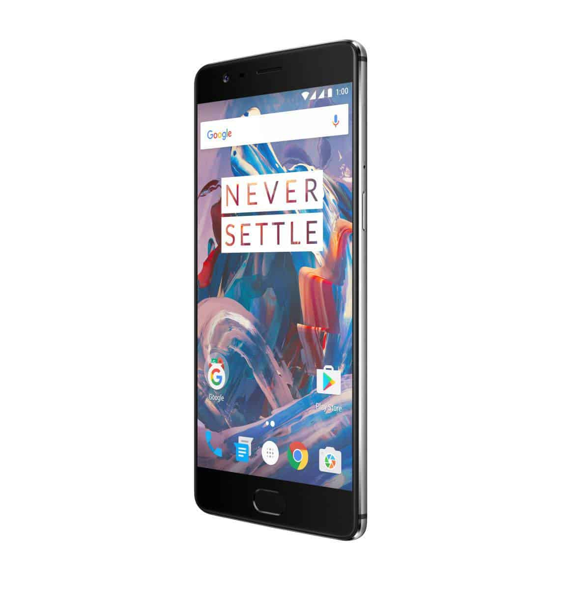 OnePlus 3 Graphite Press AH 4