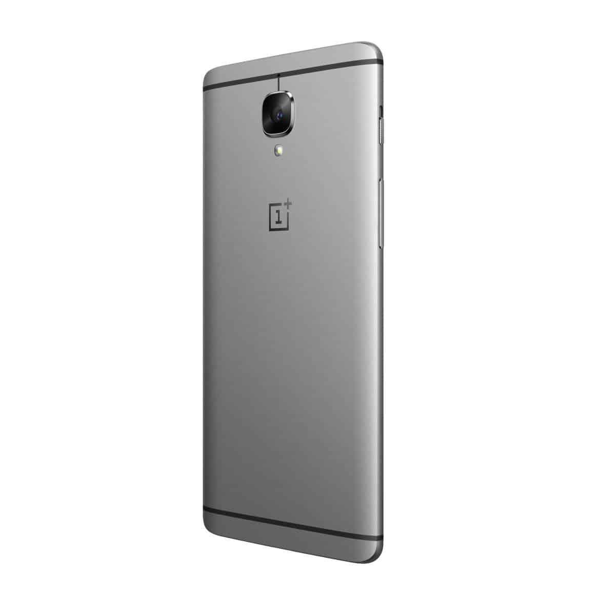 OnePlus 3 Graphite Press AH 5