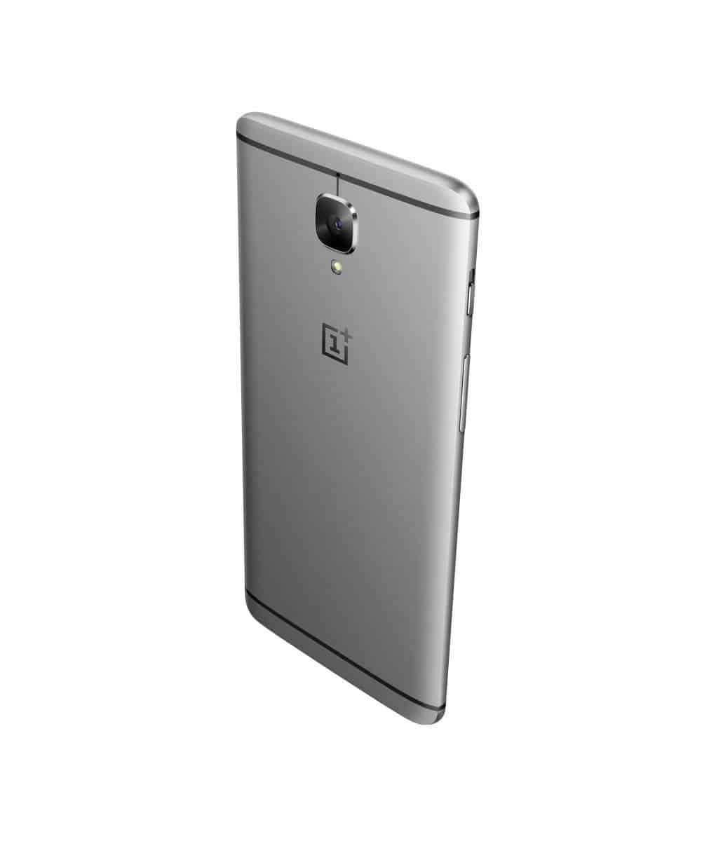 OnePlus 3 Graphite Press AH 9