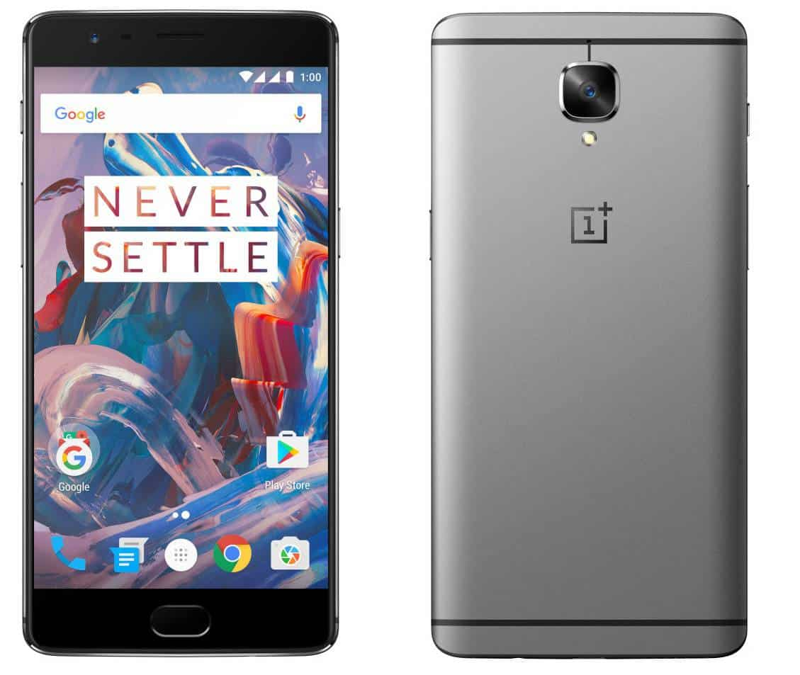 OnePlus 3 Graphite Press Main