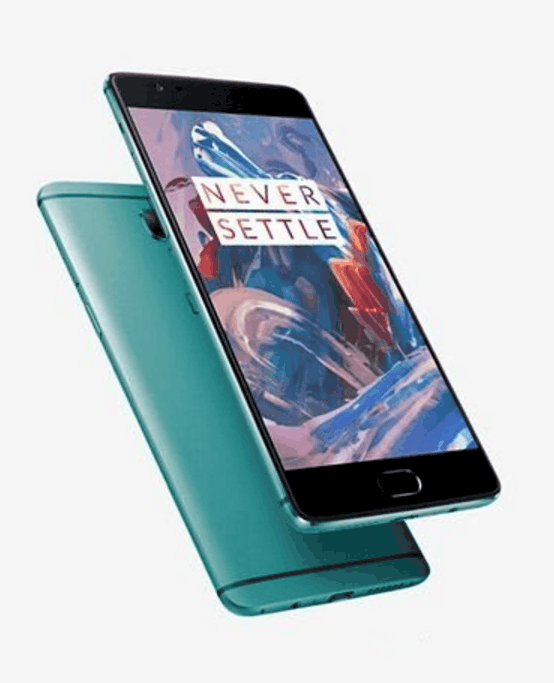 OnePlus 3 Green KK
