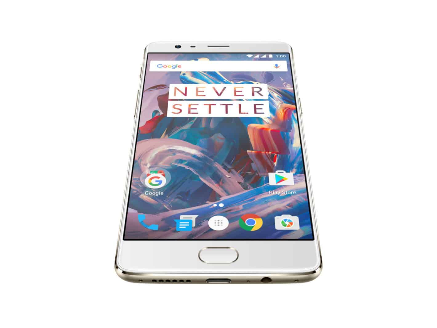OnePlus 3 Soft Gold Press AH 1