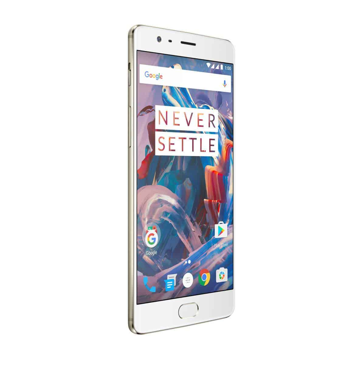 OnePlus 3 Soft Gold Press AH 10