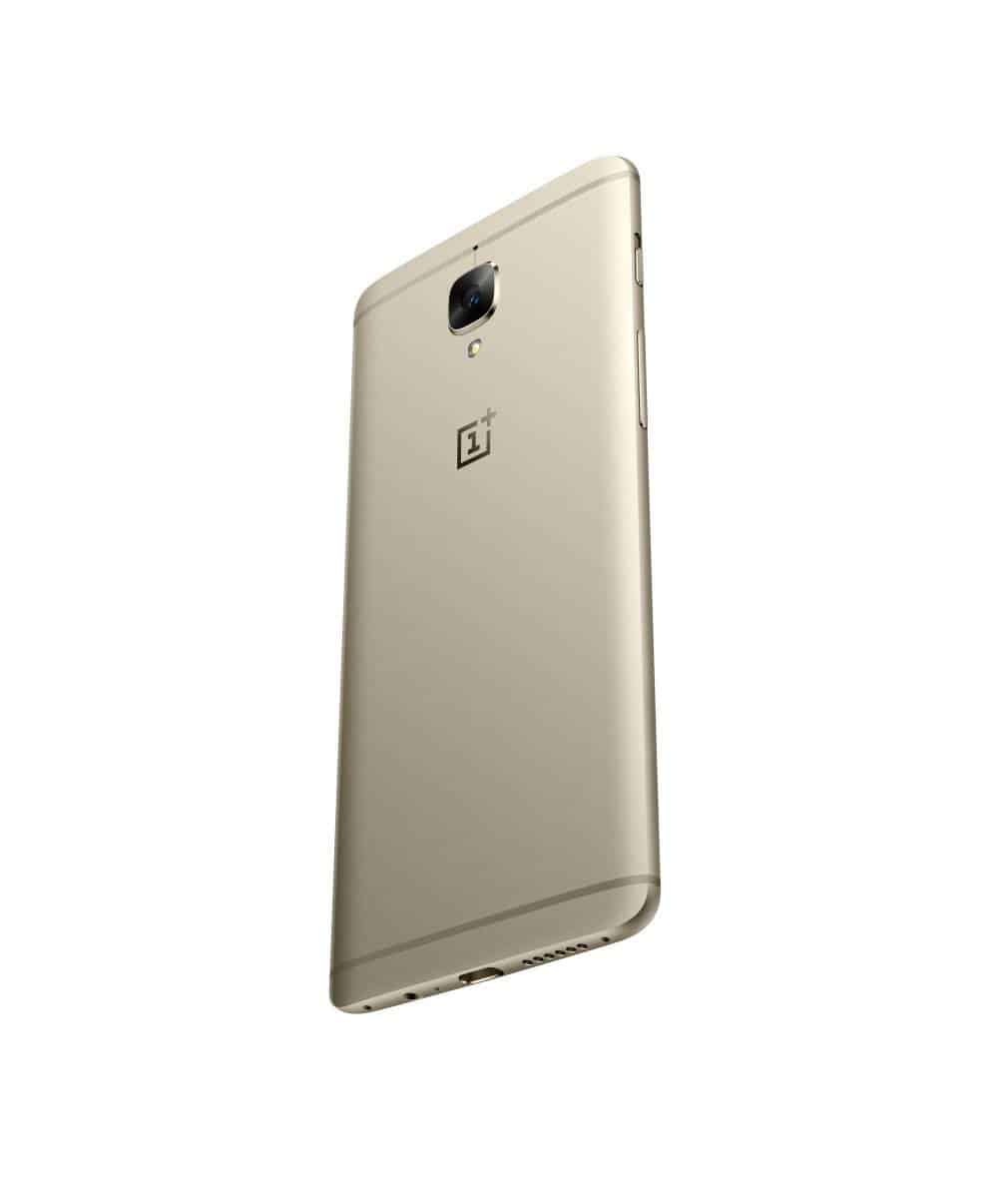 OnePlus 3 Soft Gold Press AH 16