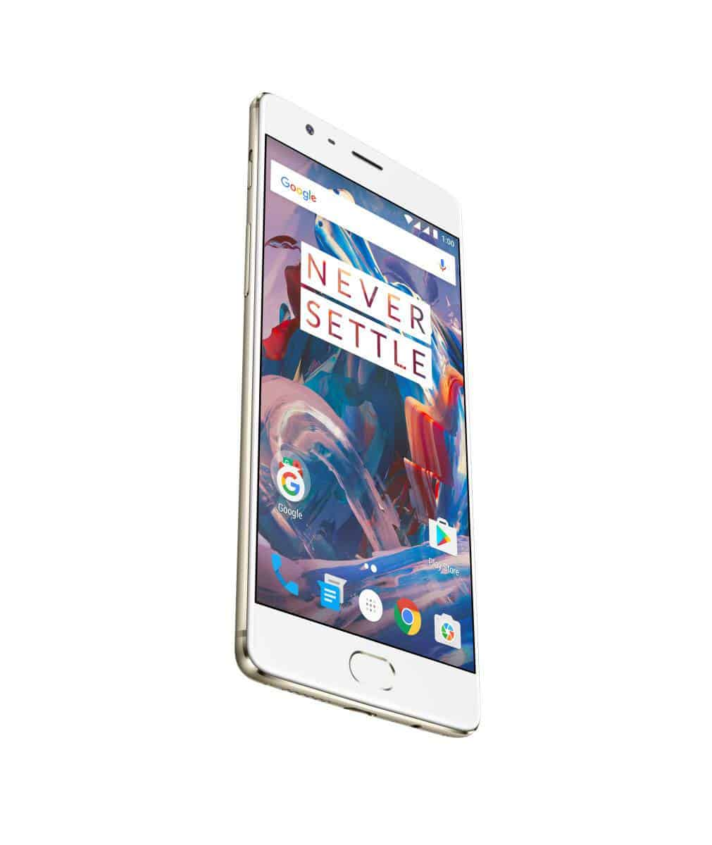 OnePlus 3 Soft Gold Press AH 18