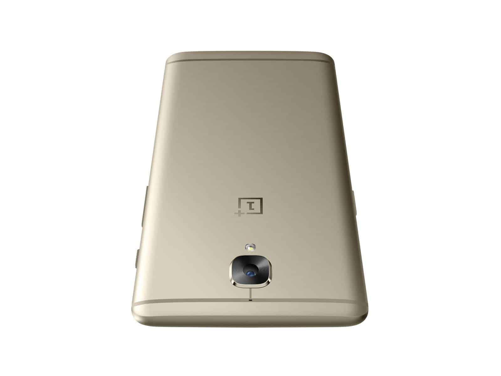 OnePlus 3 Soft Gold Press AH 20