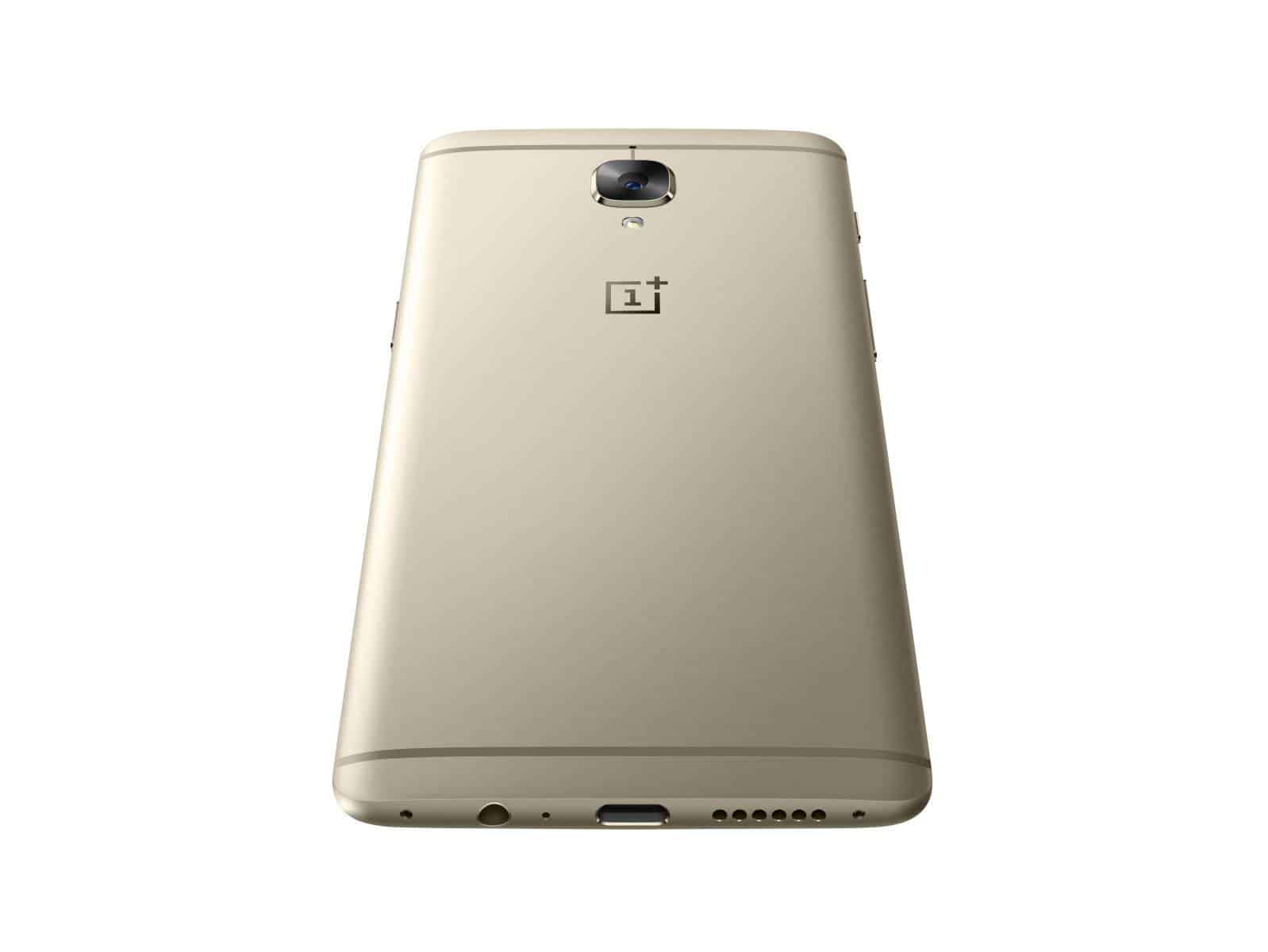 OnePlus 3 Soft Gold Press AH 21