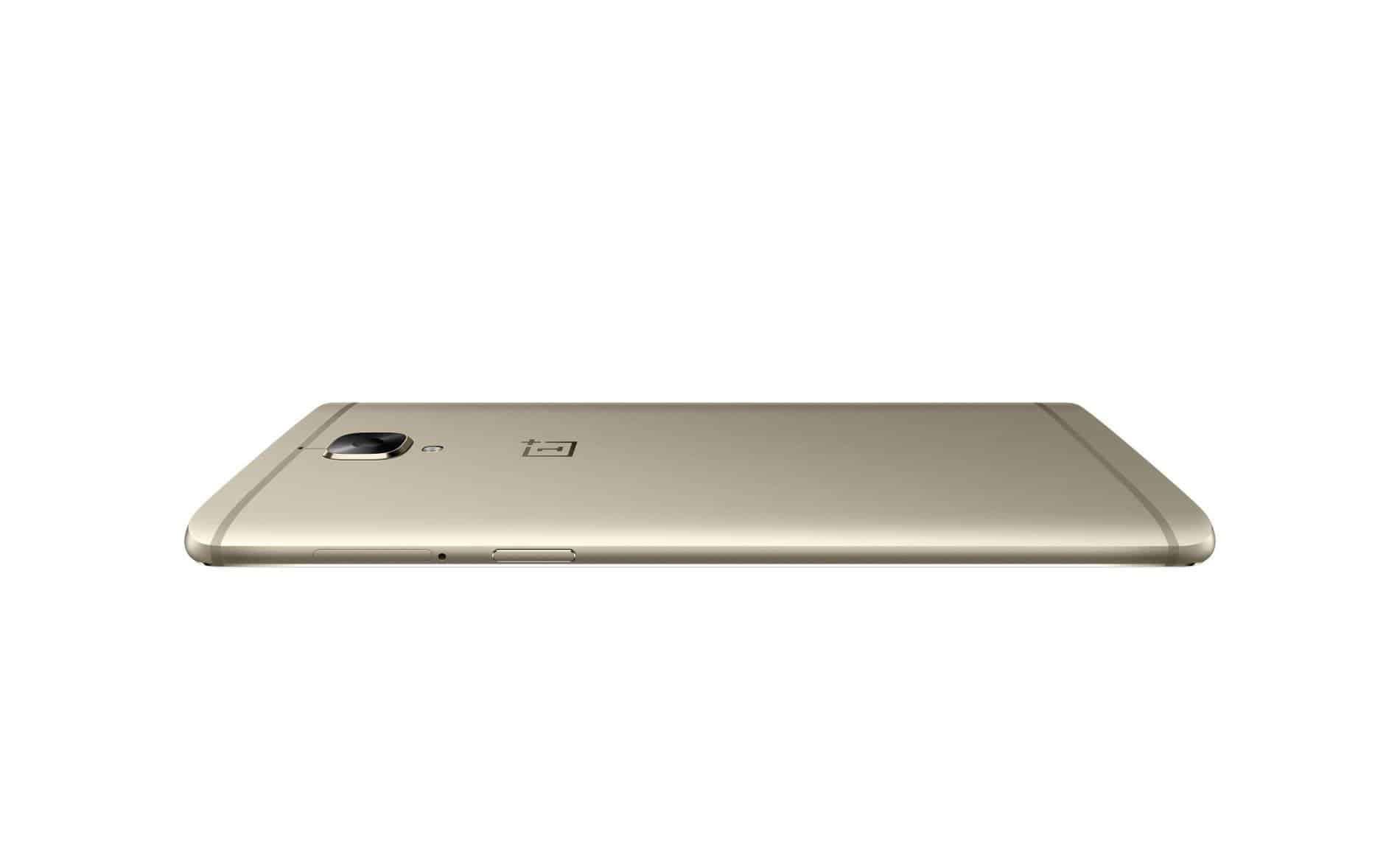 OnePlus 3 Soft Gold Press AH 22