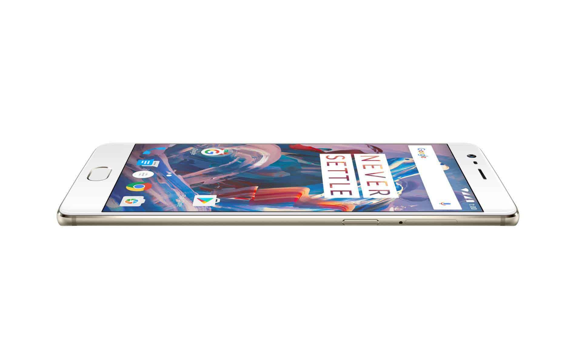 OnePlus 3 Soft Gold Press AH 3