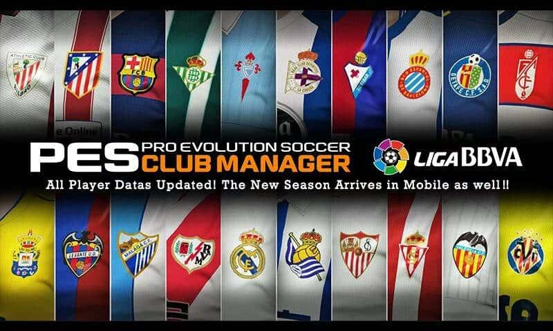 PES CLUB MANAGER app image_1