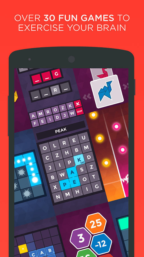 Peak Brain Games app official image 1