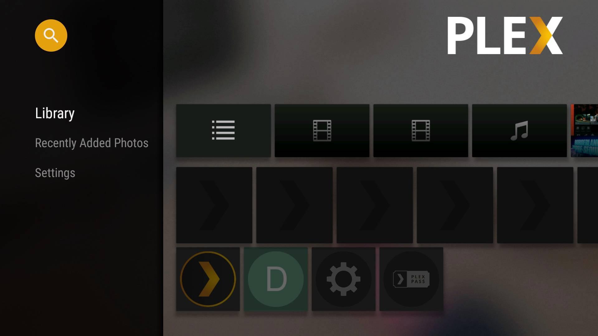 Plex Android TV SHIELD 02