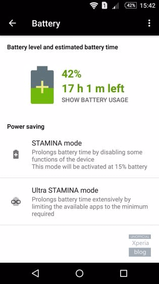STAMINA MODE MARSHMALLOW