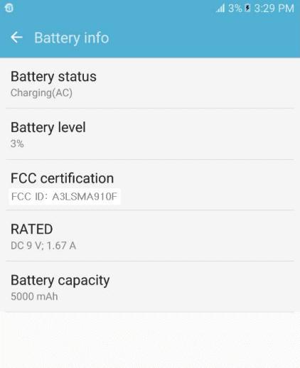 Samsung Galaxy A9 Pro FCC