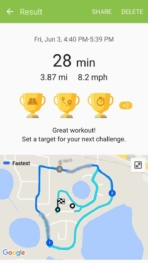 Samsung Gear Fit2 screenshots fitness tracking 01