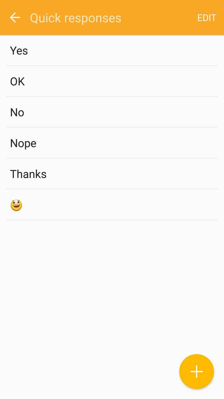 Samsung Gear Fit2 screenshots quick messages 01