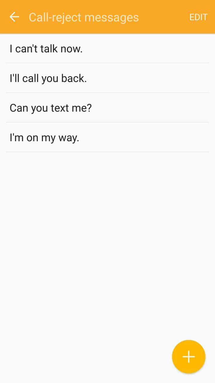Samsung Gear Fit2 screenshots quick messages 02