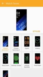 Samsung Gear Fit2 screenshots watch faces 01