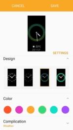 Samsung Gear Fit2 screenshots watch faces 02