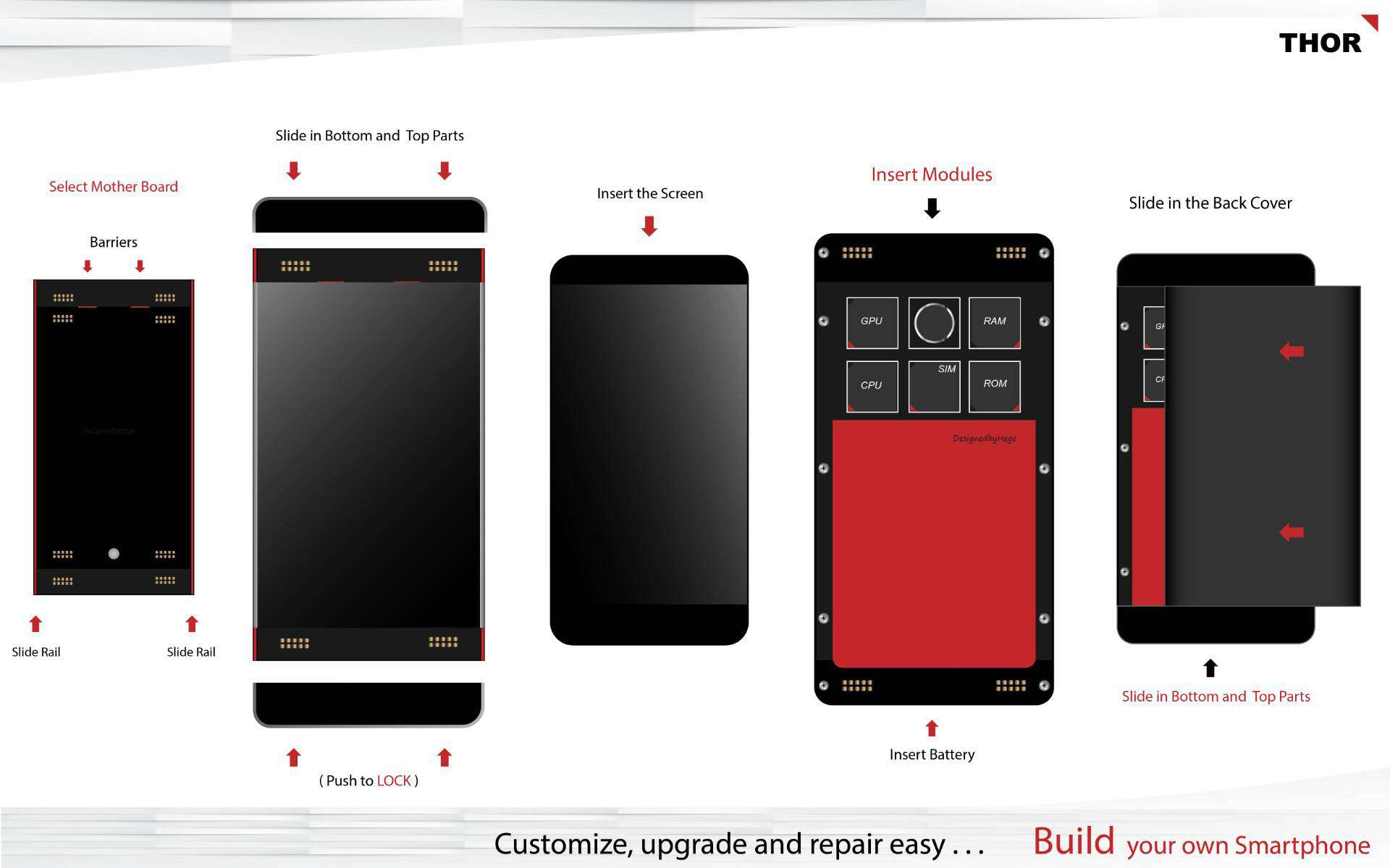 THOR modular smartphone concept 1