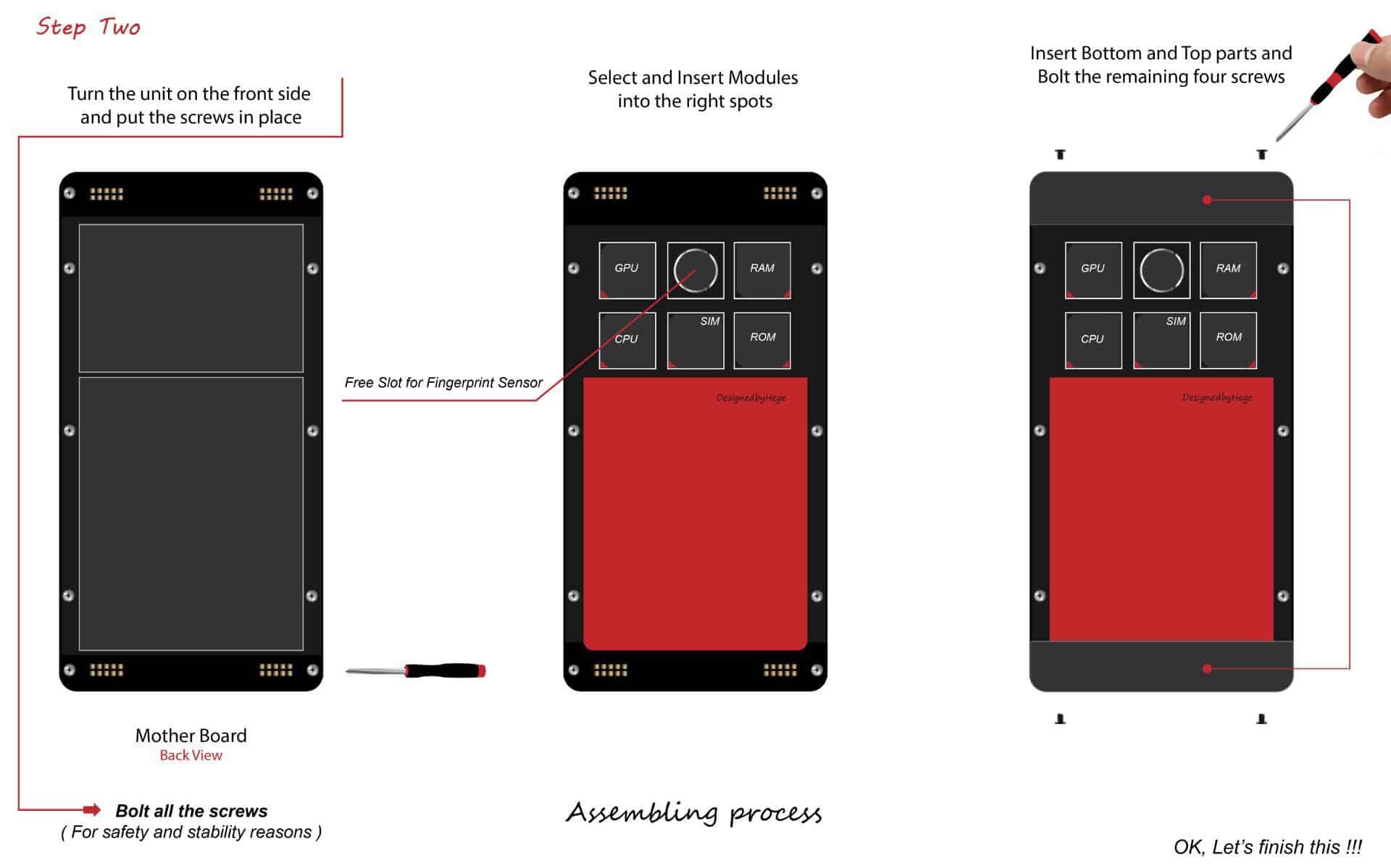 THOR modular smartphone concept 6