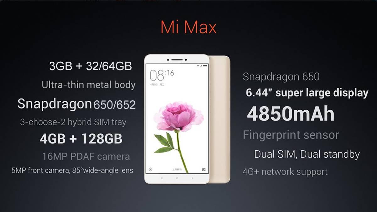 XIaomi Mi Max GB 01