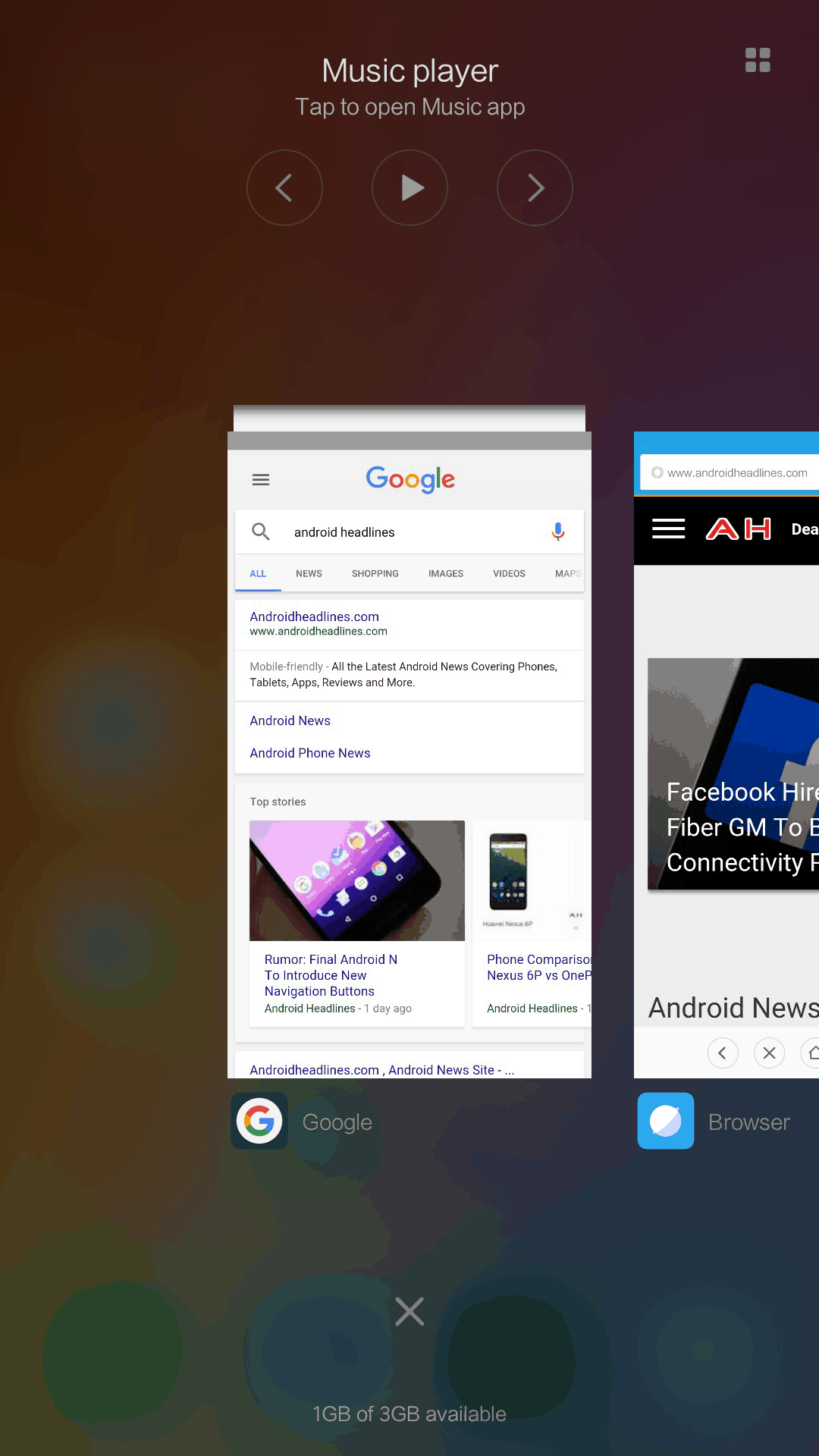 Xiaomi Mi Max AH NS Screenshots multi task 2