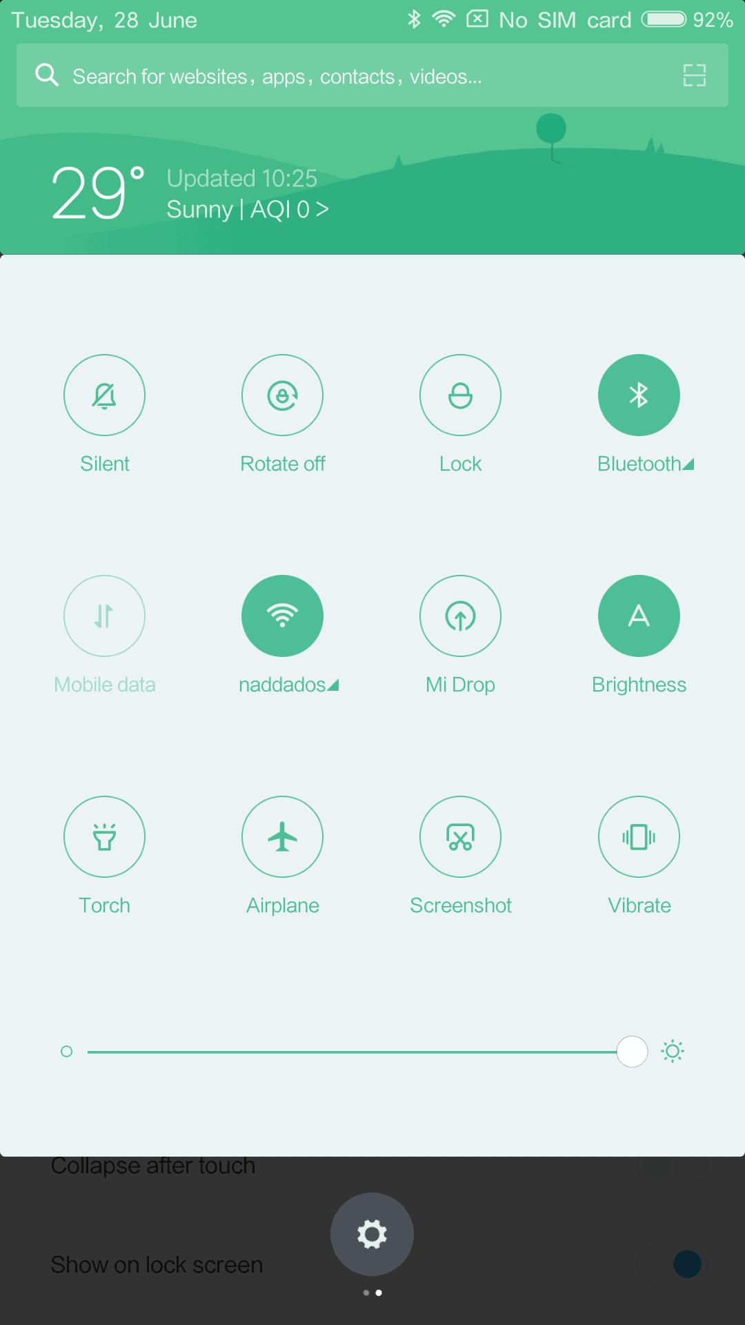 Xiaomi Mi Max AH NS Screenshots notification 5