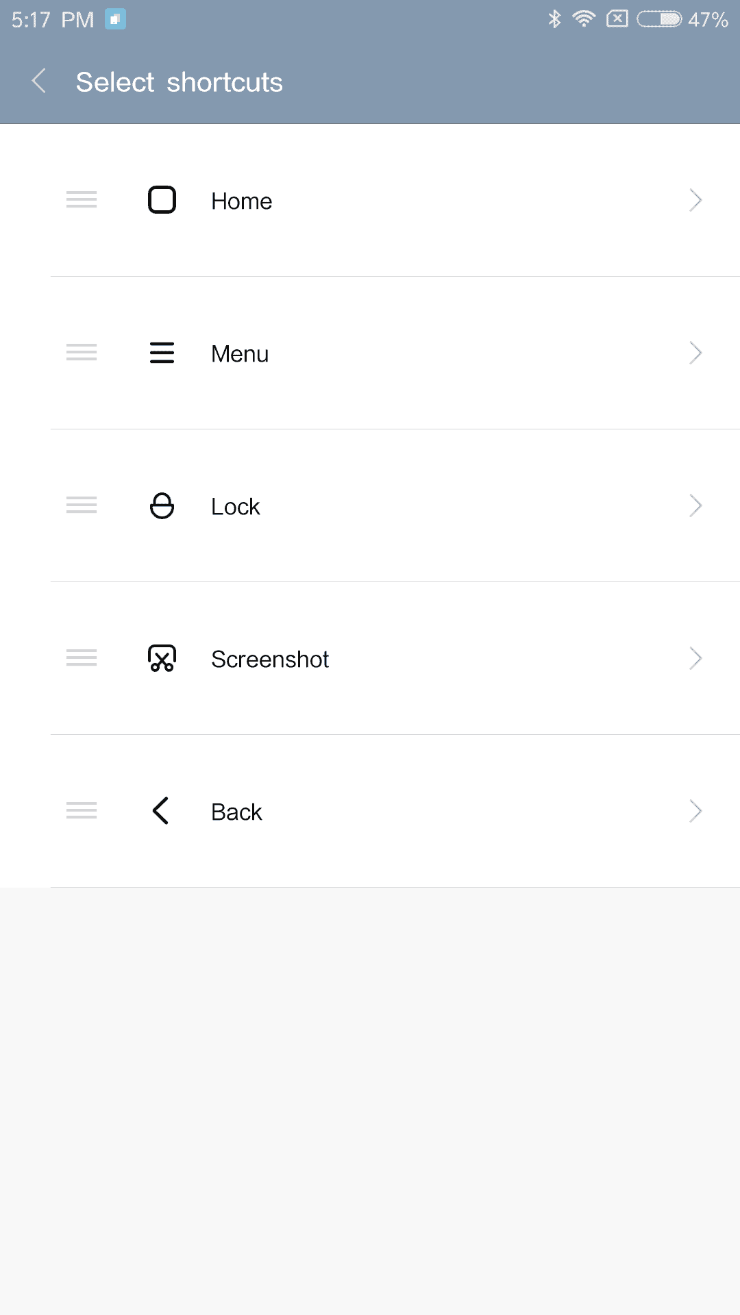 Xiaomi Mi Max AH NS Screenshots shortcut menu 2