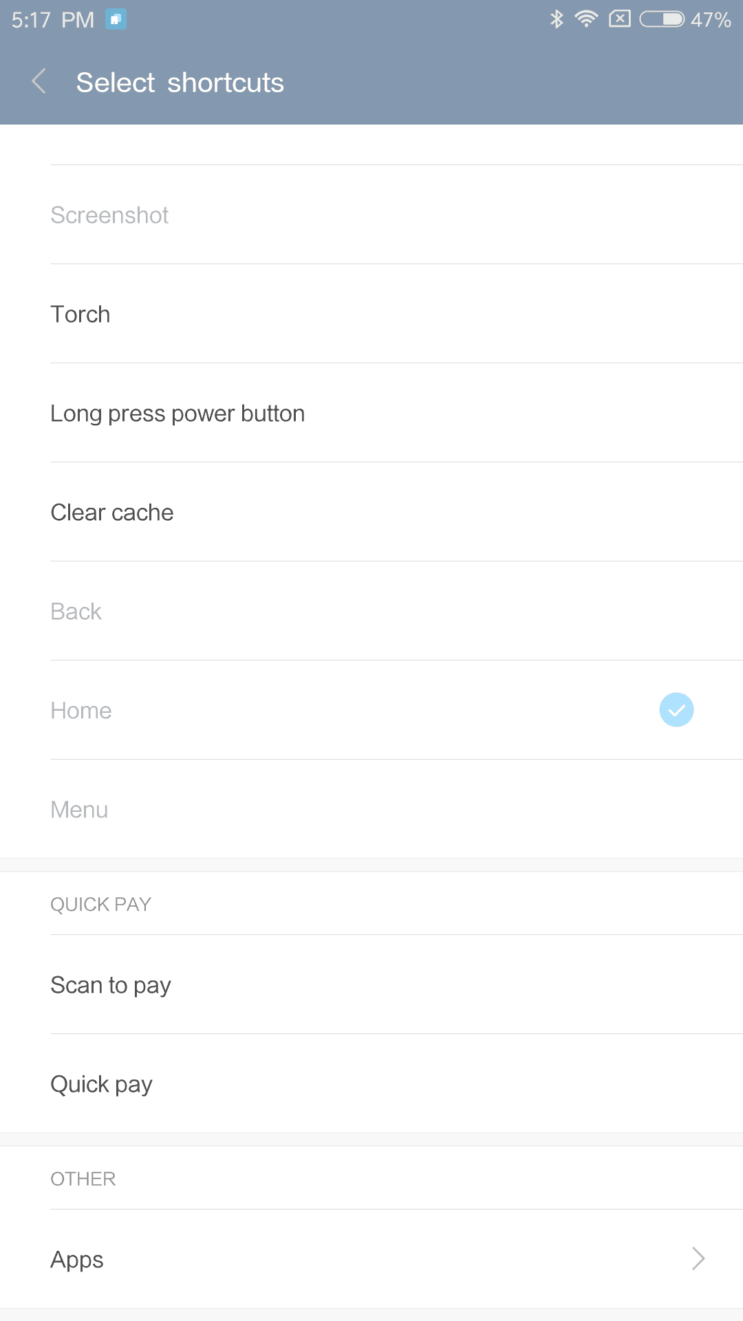 Xiaomi Mi Max AH NS Screenshots shortcut menu 4