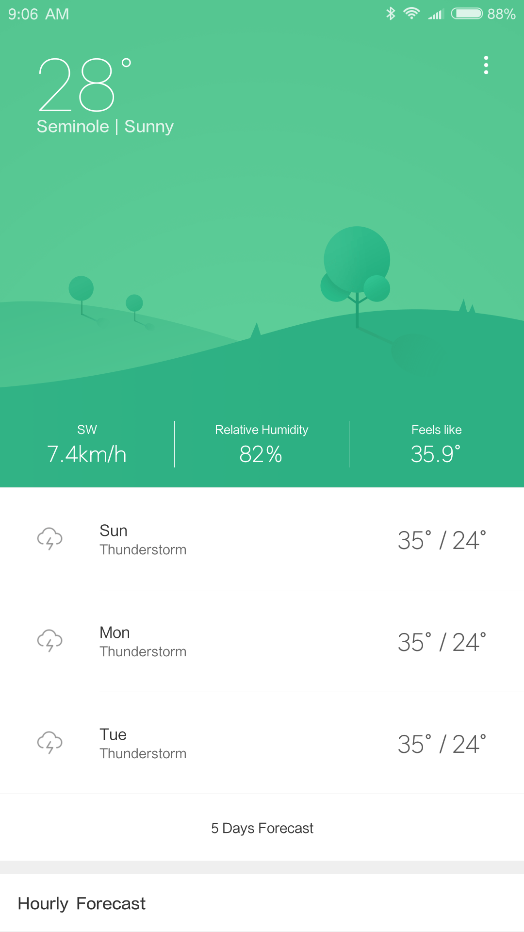 Xiaomi Mi Max AH NS Screenshots weather 1