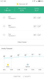 Xiaomi Mi Max AH NS Screenshots weather 2
