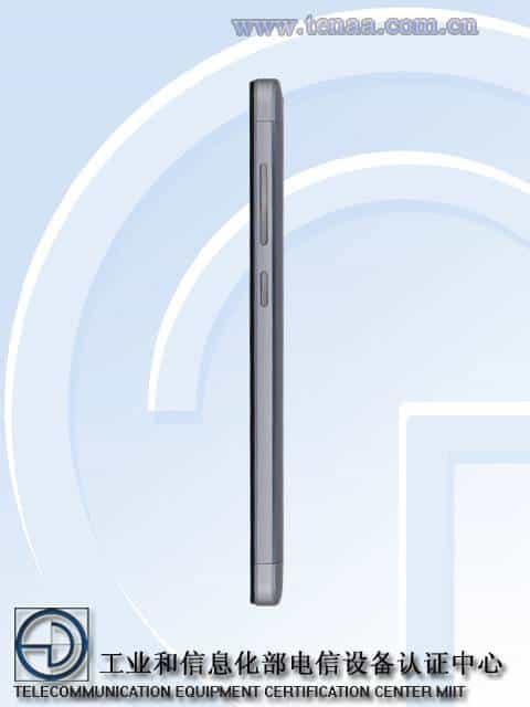 Xiaomi Redmi 3A 3S TENAA 4
