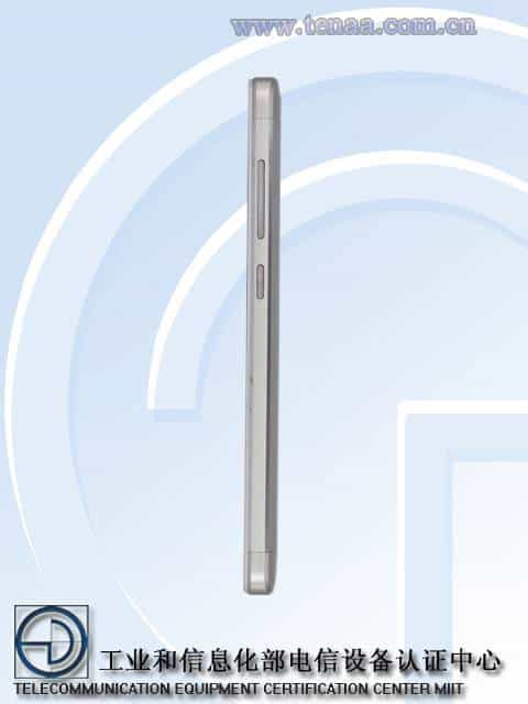 Xiaomi Redmi 3A 3S TENAA 8