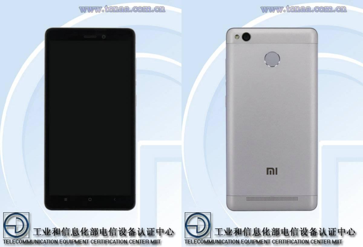 Xiaomi Redmi 3A, 3S TENAA_9