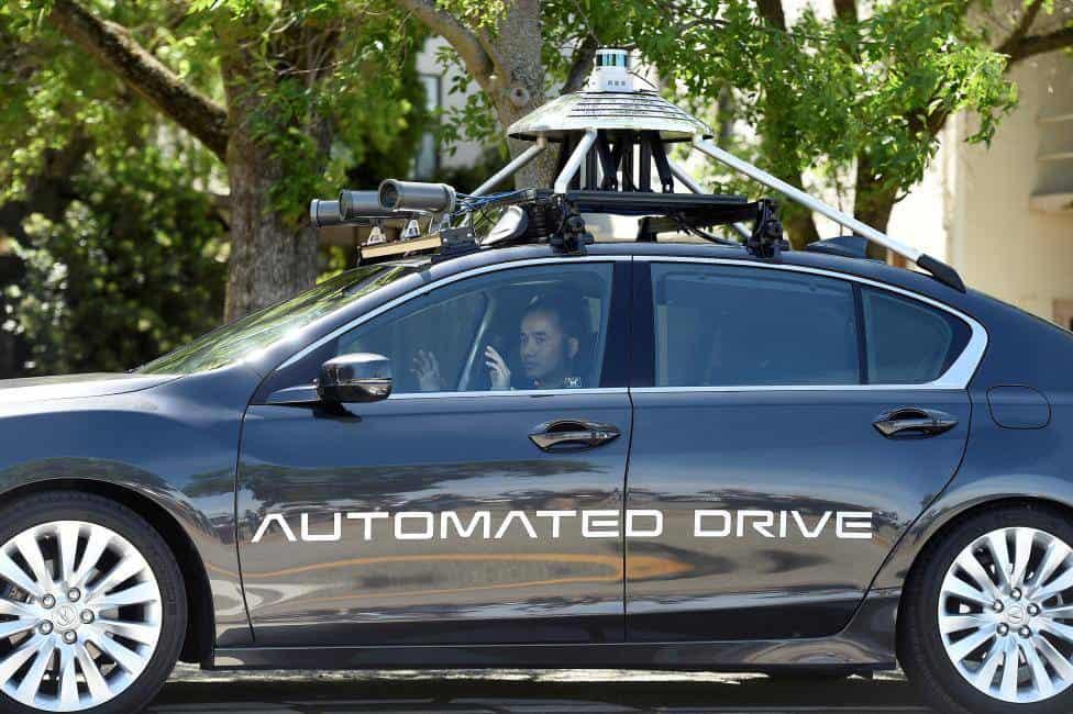 honda self driving reuters 3