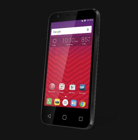 Alcatel Dawn Official Virgin Mobile KK 4