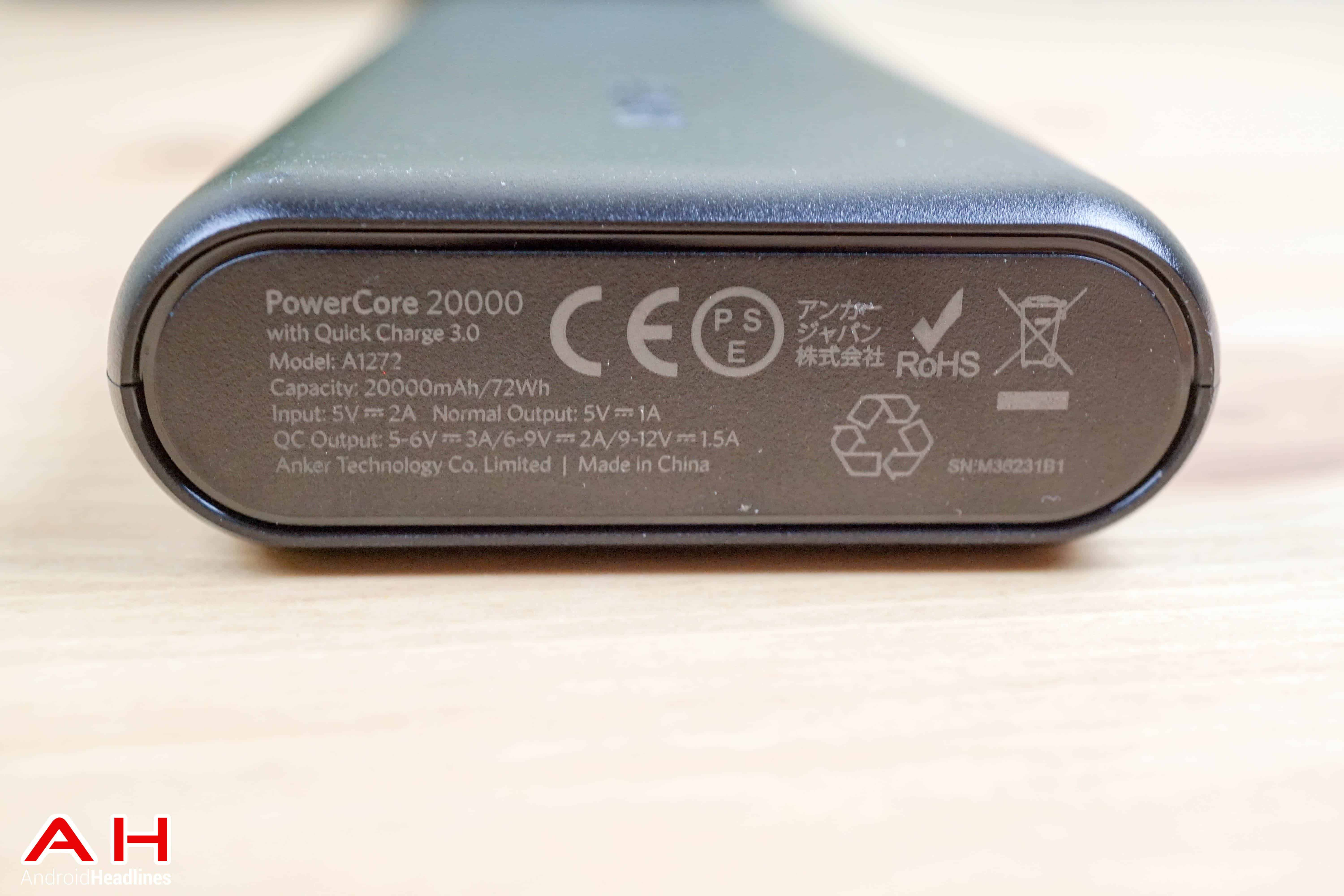 Anker PowerCore 20000 AH 4