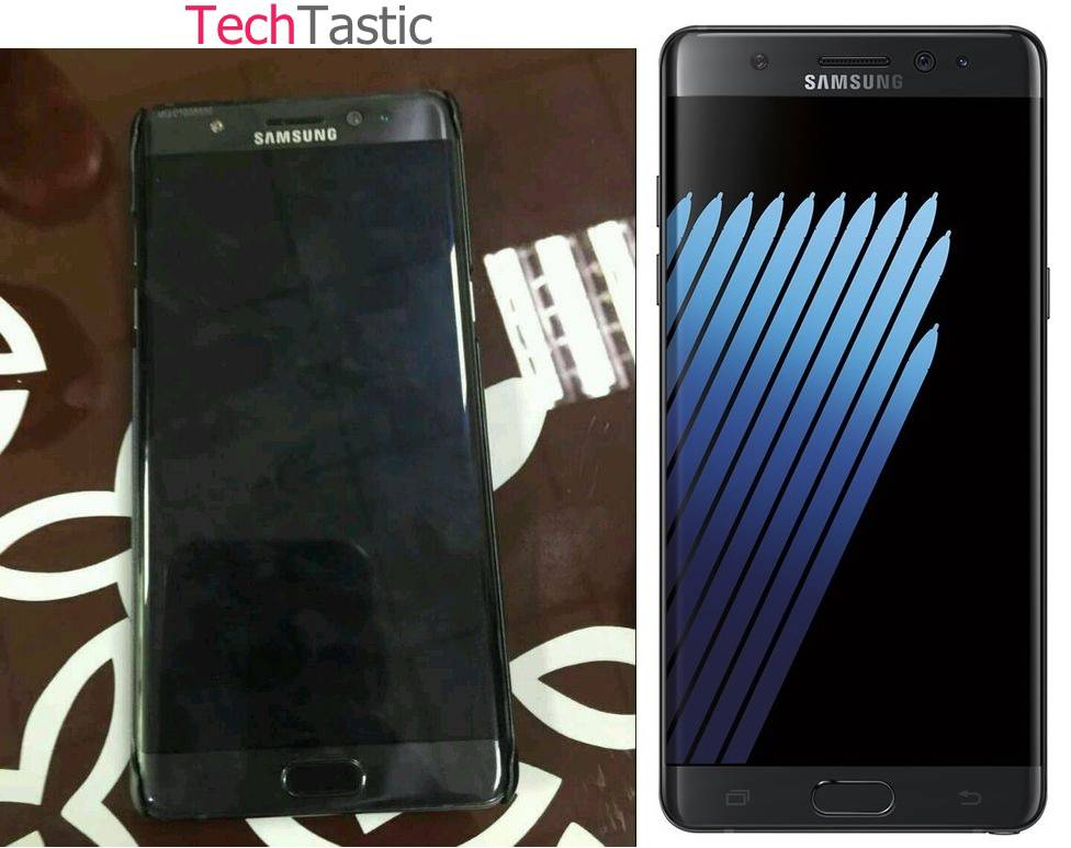 Galaxy Note 7 Leaked Image July 2