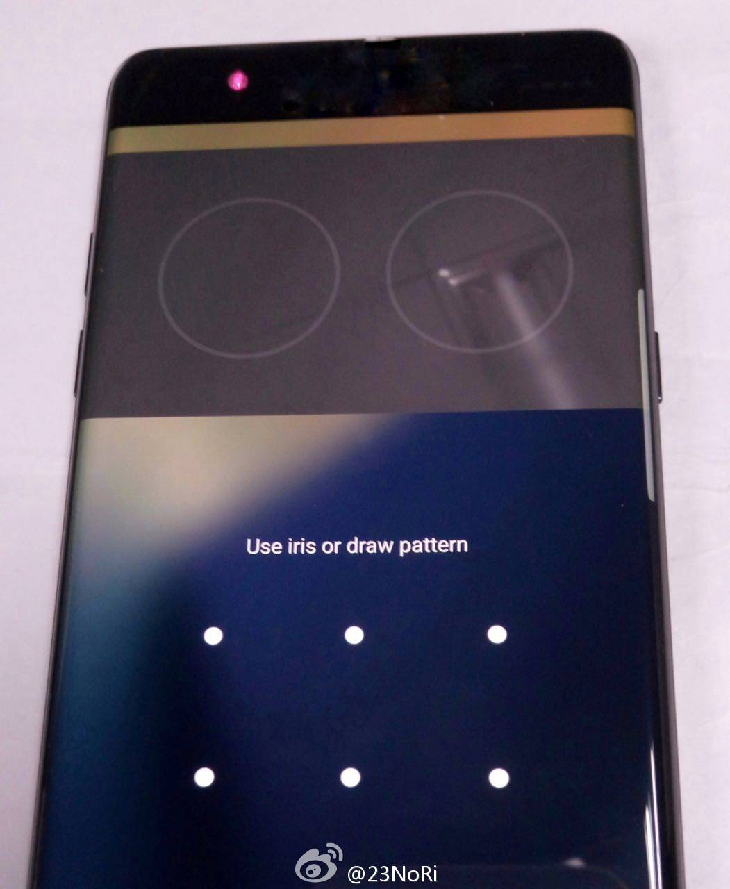 Galaxy Note 7 iris scanner leak 2