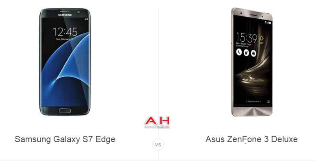Galaxy S7 Edge vs ZenFone 3 Deluxe cam AH