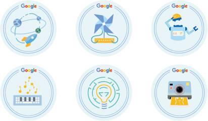 Google Summer Squad badges