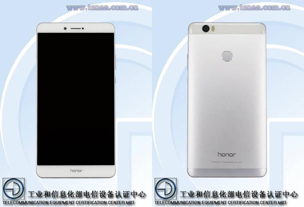Huawei Honor phablet TENAA 5