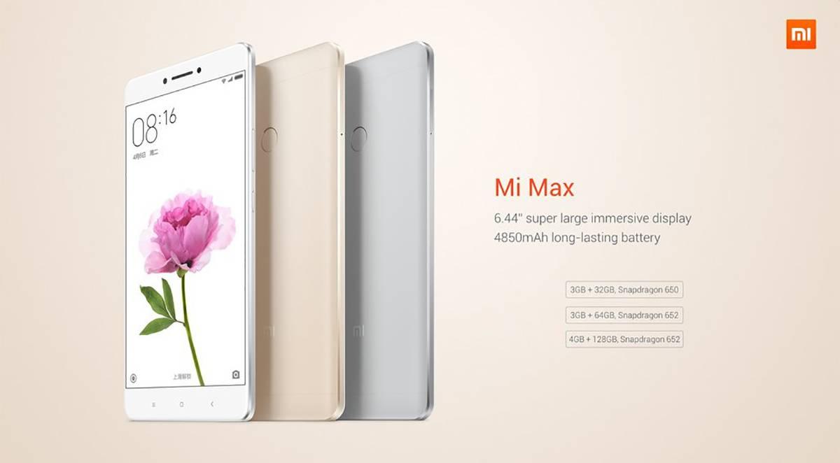 Mi Max July 16 GB 01