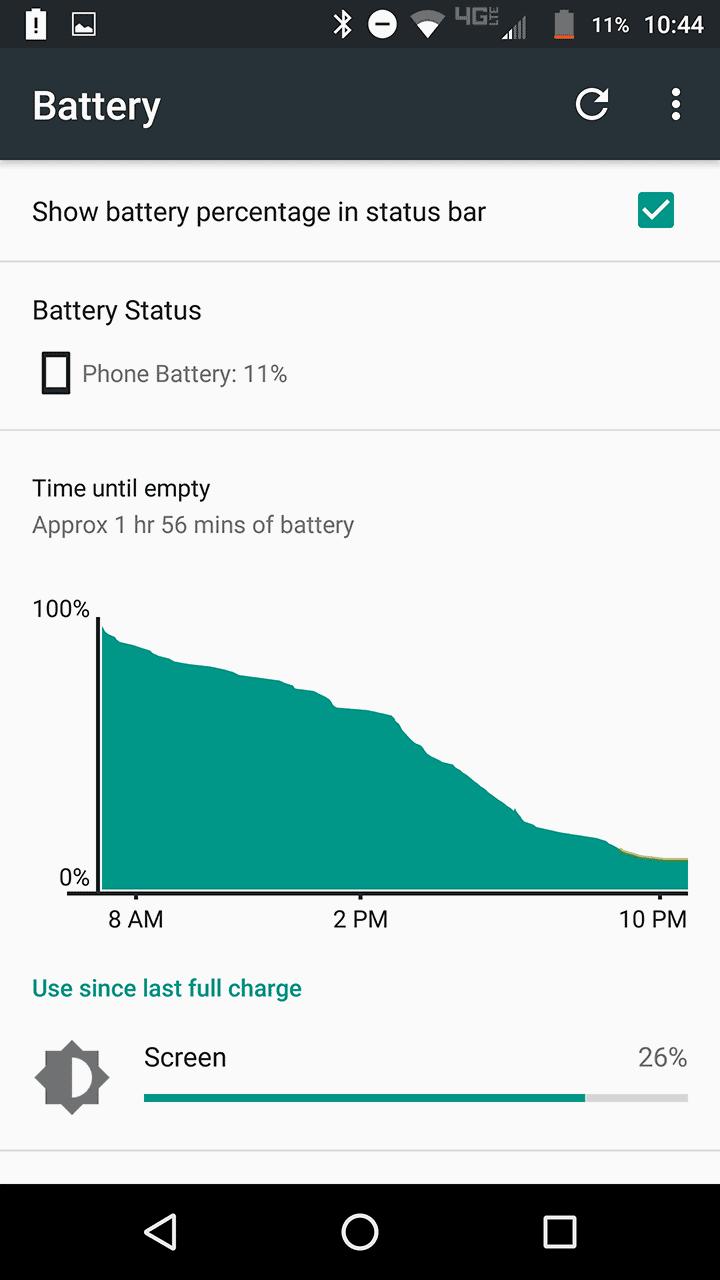 Motorola Lenovo Moto Z Force screenshots battery 03