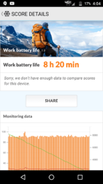 Motorola Lenovo Moto Z Force screenshots battery test