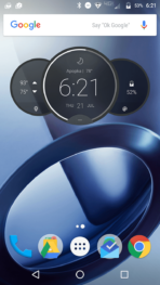 Motorola Lenovo Moto Z Force screenshots charging 2